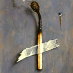 """Still alive""2013 oil on panel,12x8cm"
