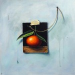Tangerine dream 40x40cm oil on canvassmall